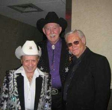 Little Jimmy Dickens, Jack Greene, George Jones.  Three of the best singers in REAL country music!