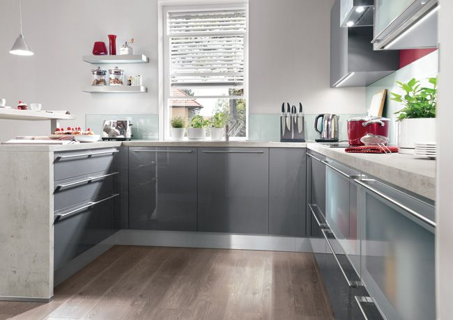 15 best Kitchens images on Pinterest Contemporary unit kitchens