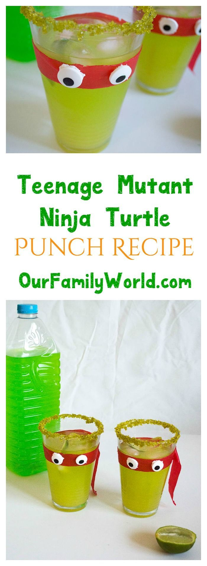 Teenage Mutant Ninja Turtles: Out of Shadows is hitting the theater on June 3rd and my teen wants to celebrate with a pre-movie party! You can't have a party without snacks and drinks, right? What better way to celebrate than with a movie-inspired mocktai