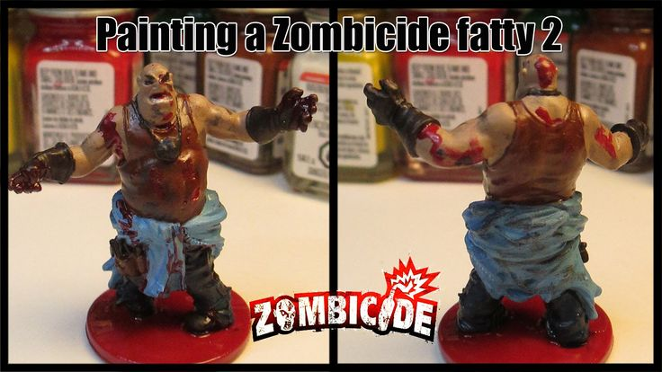Painting a Zombicide fatty 2