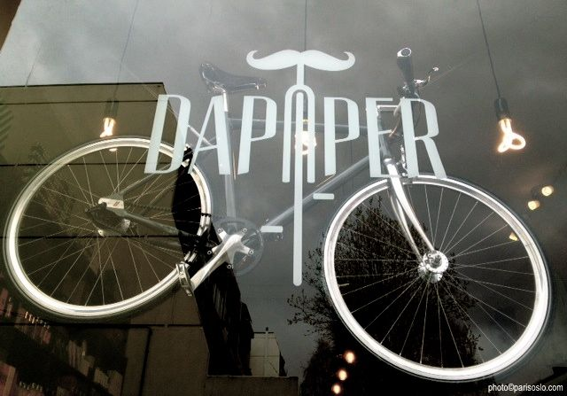 Dapper - #shop #Oslo - #bicycle #clothes #barber #elegant