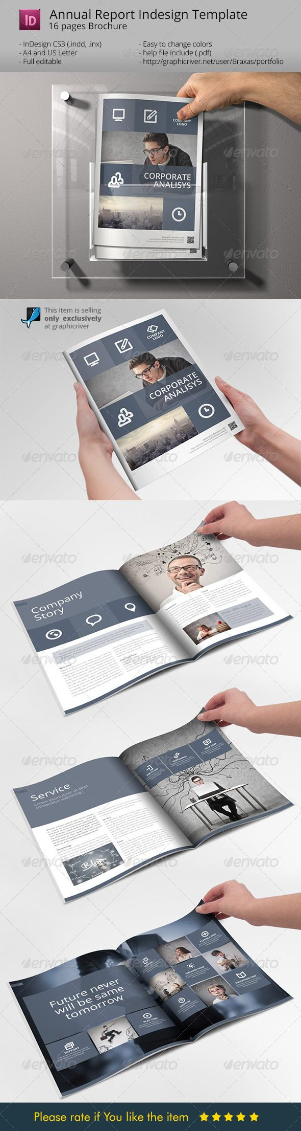 System Indesign Brochure Template - Sharp & Clean  • Only available here ➝ http://graphicriver.net/item/system-indesign-brochure-template-sharp-clean/7220012?ref=pxcr