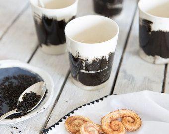 Keramische Cups Espresso Mug Espresso Cups, keramische koffie kopjes, Cappuccino mok, koffie liefhebbers, Hand geschilderde mok, Housewarming cadeau