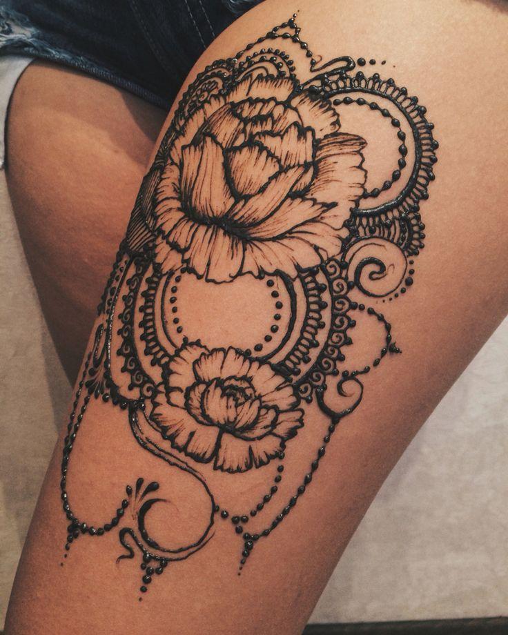 эскизы хной на ноге цветы фото марка фанеры подразделяется