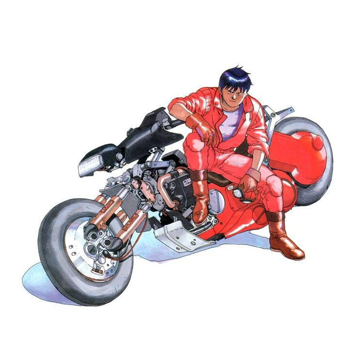 """Shotaro Kaneda (金田正太郎)"" by Katsuhiro Otomo* Blog/Website 