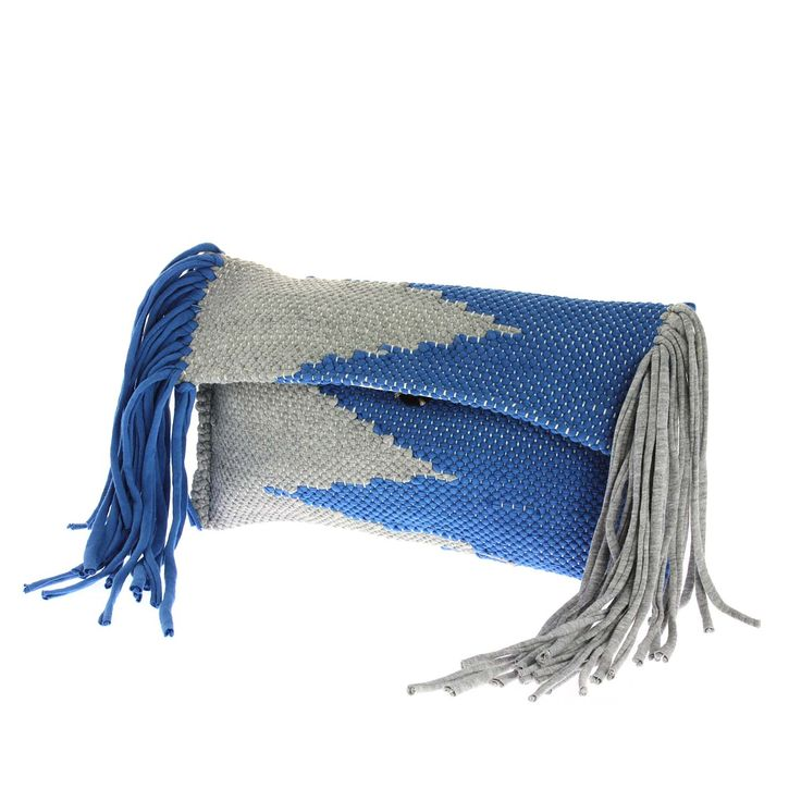 "Unique Loom handmade woven clutchbag ""Demetra""!!!  #Loom #Woven_with_Grace_and_Artistry #unique #handmade #woven #kourelou #bag #shop #online #at #etsyshop #loommade www.loomhandmade.com"