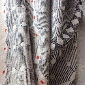 Louisa Loakes handprinted textiles
