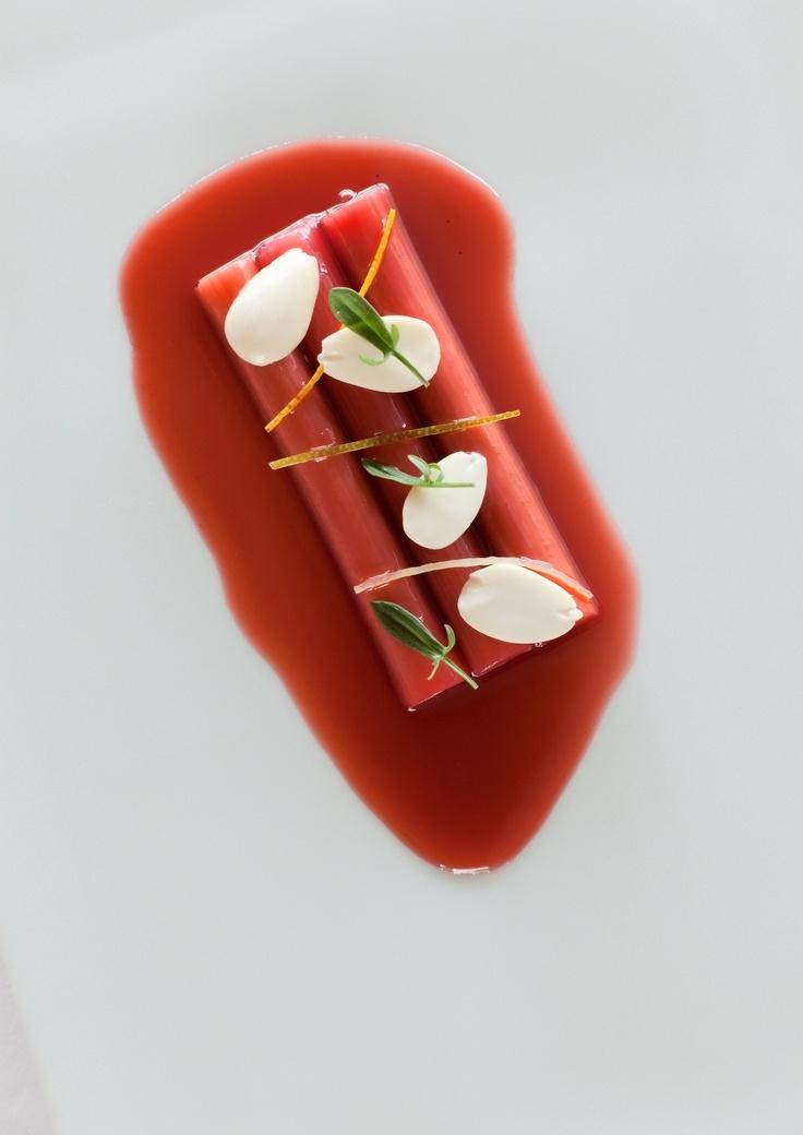 Rhubarb, licorice, almond, citrus