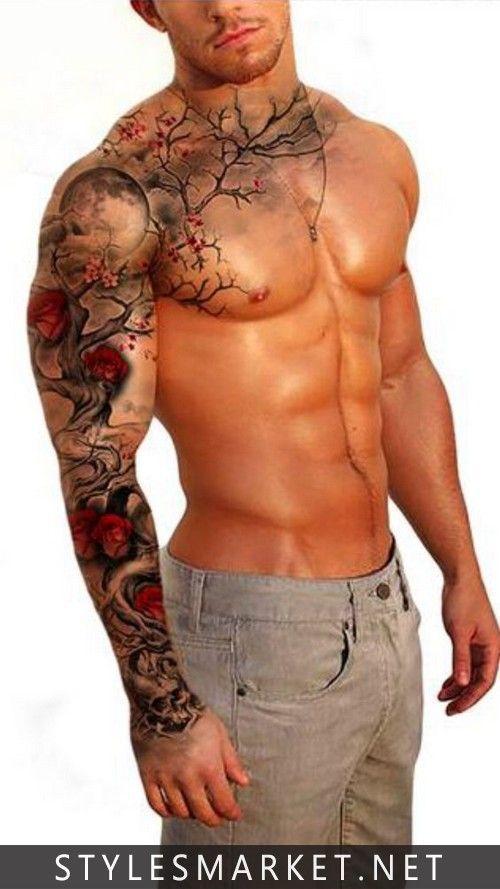 Font-body-color-tattoo-for-men #tattoosformenideas