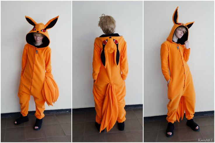 Naruto Kurama Kigurumi  (I really really really want this)