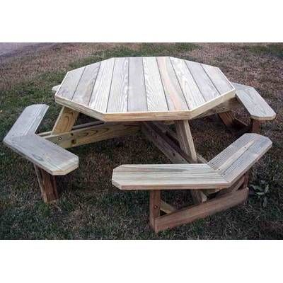 arturo wooden picnic table in 2019 picnic tables wooden picnic rh pinterest com