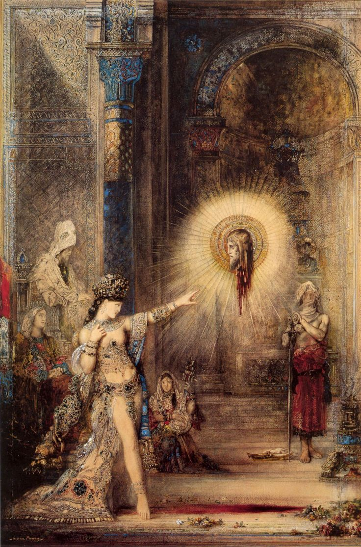GUSTAVE MOREAU - The Apparition - 1876)