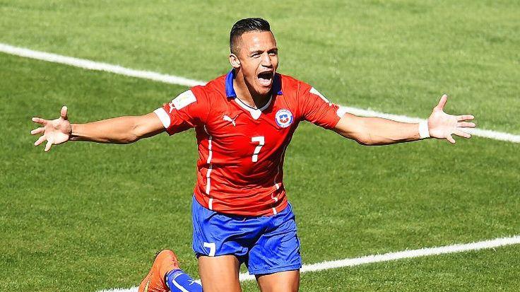 Chile - Alexis Sanchez  www.bettingrunner.com