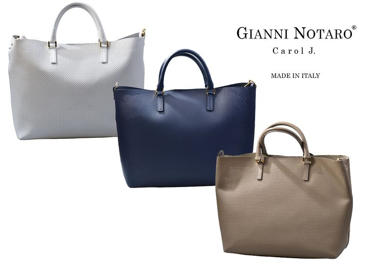 The perfect TRILOGY is made with the best ingredients, wraped in the perfect design! Discover the Spring Summer Handbags collection by Gianni Notaro in Galleria Di Scarpe