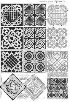 crochet motifs 7morirá ñ