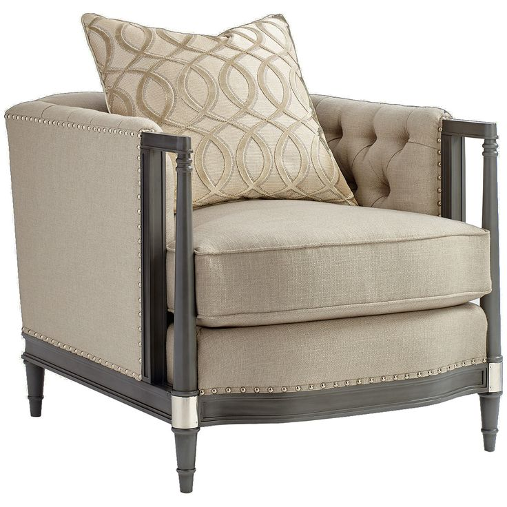 Caracole Upholstery Off The Cuff Chair