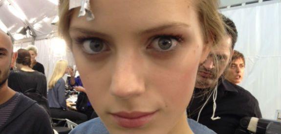 She Said Beauty Backstage At PFW: Oh So Pretty At Valentino