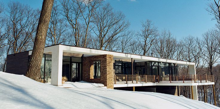 Modernism Fit for a Family - dream home