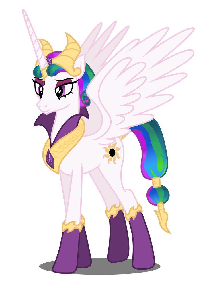 Pin by sonic brony gamer on mlp reflections princess celestia mlp princess twilight sparkle - Princesse poney ...