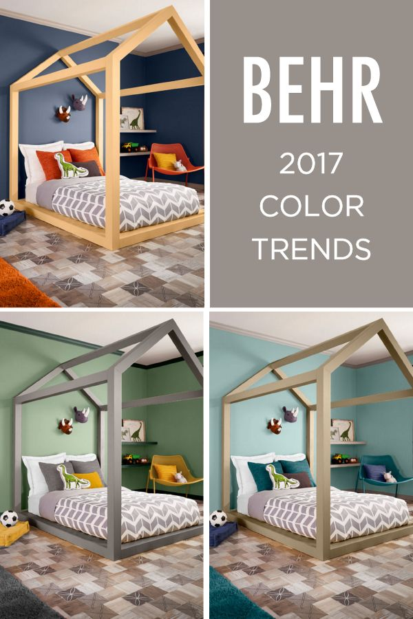 The 2017 Behr Color Trends Are Here To Solve All Your Design Dilemmas If You Re Wondering What Shade Paint Bedroom Check Out K A Blue For