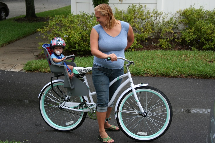 My Huffy Bike And Baby Seat I Bought At Walmart These Are A Few Of My Favorite Things