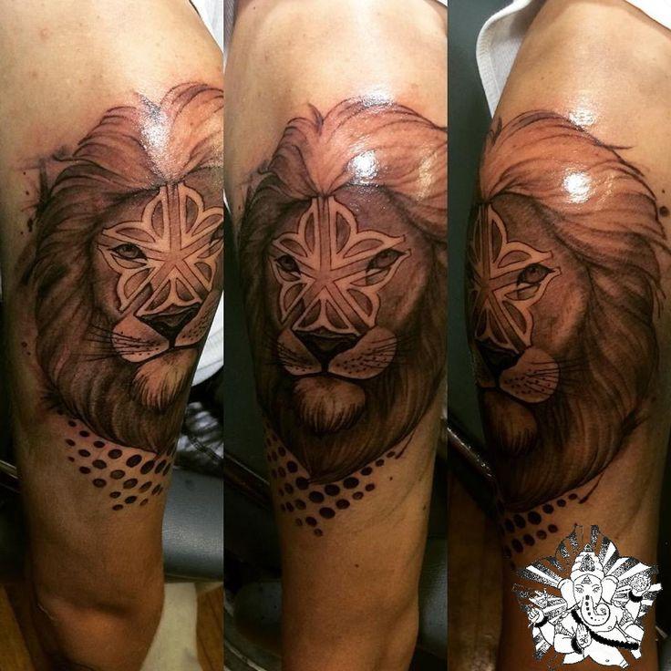 Lion tattoo 585 lion rochester new york natty tatty ink for Tattoo rochester ny