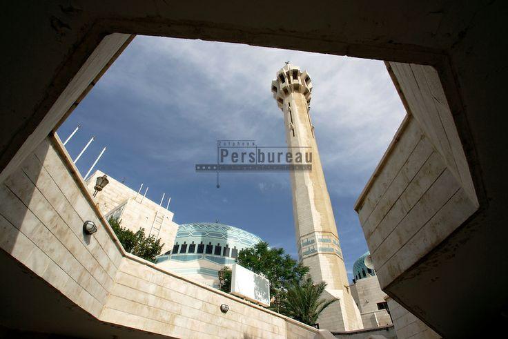 The King Abdullah mosque in Amman. Jordan.