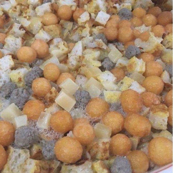 Zuppa alla Santè, un piatto tipico della tradizione molisana che esalta la capacità elaborativa della dieta mediterranea.