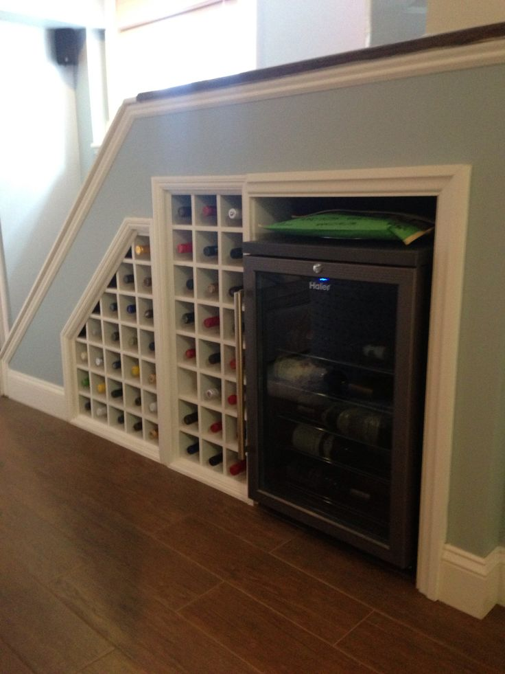 11 Best Images About Wine Rack Under Stairs On Pinterest