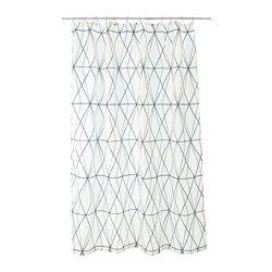 Les 25 meilleures id es de la cat gorie rideaux de douche sur pinterest rideau de douche - Tissus impermeable ikea ...