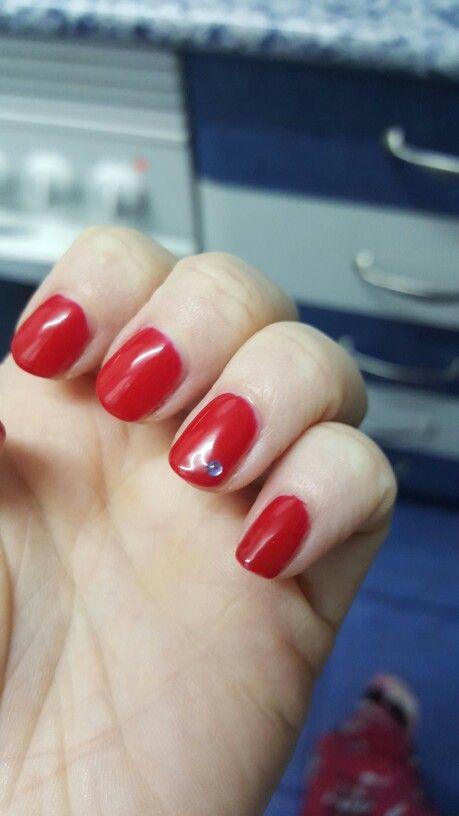 Roja con piedra