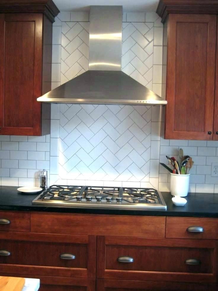 don t love the border oven backsplash tile behind stove only rh pinterest com