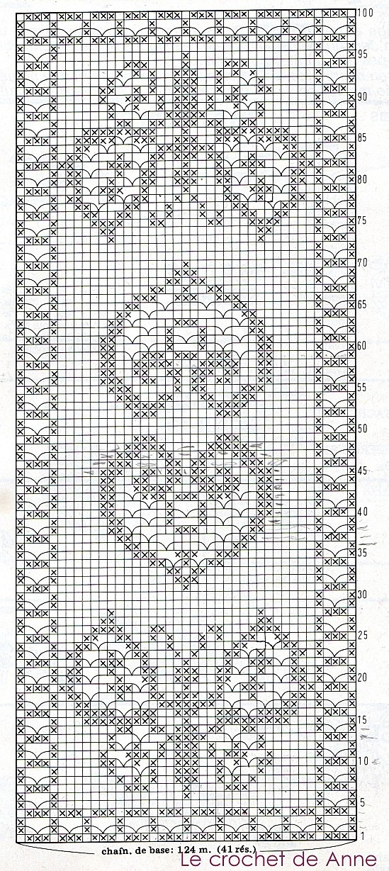 crochet filet pattern