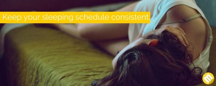 Sticking to a consistent schedule for sleeping and waking up, even during weekends, holidays and leaves, will help you set your body clock and improve the quality of your sleep. The first thing you have to do is to set a realistic sleeping time that will fit with your lifestyle.