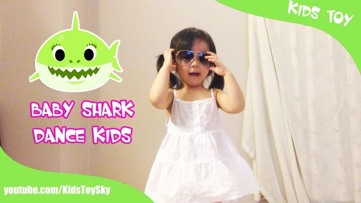 Baby Shark Dance With Kids Wearing Shark Costumes | Animal Songs | Kids ...