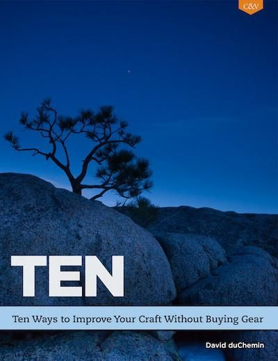 TEN is exactly what it says it is—an exploration of ten techniques and ideas that can improve your photography.