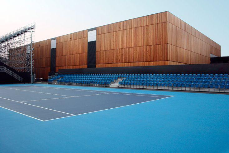 Tennis Facility for London 2012 Olympics.