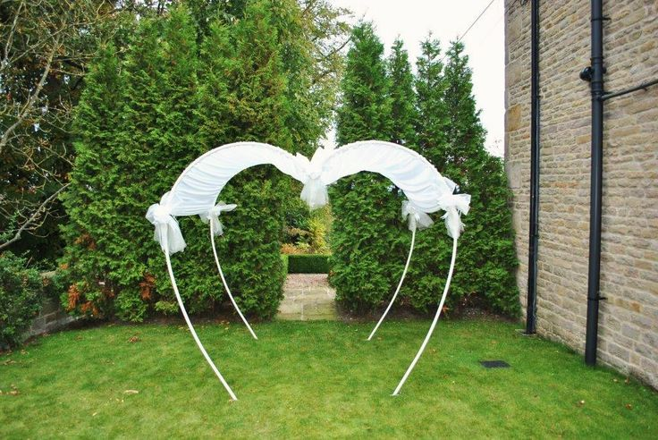 Wedding Arch From Pvc Pipes Wedding Ideas Pinterest