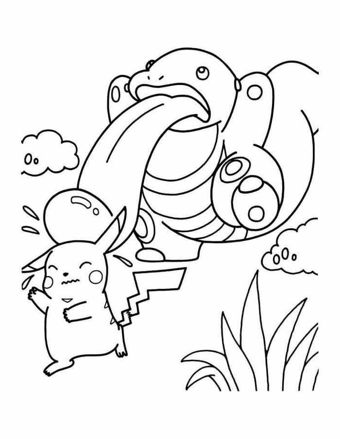Printable Pokemon Coloring Pages For Your Kids Pokemon Coloring Pages Pikachu Coloring Page Pokemon Coloring