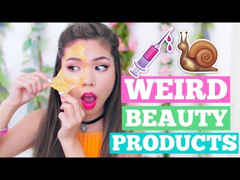 Crazy & Weird Beauty Products You NEED to Try! | Buzzfeed Tested! - YouTube