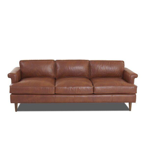 Carson Leather Sofa Leather Sofa Vintage Leather Sofa Wayfair Custom Upholstery
