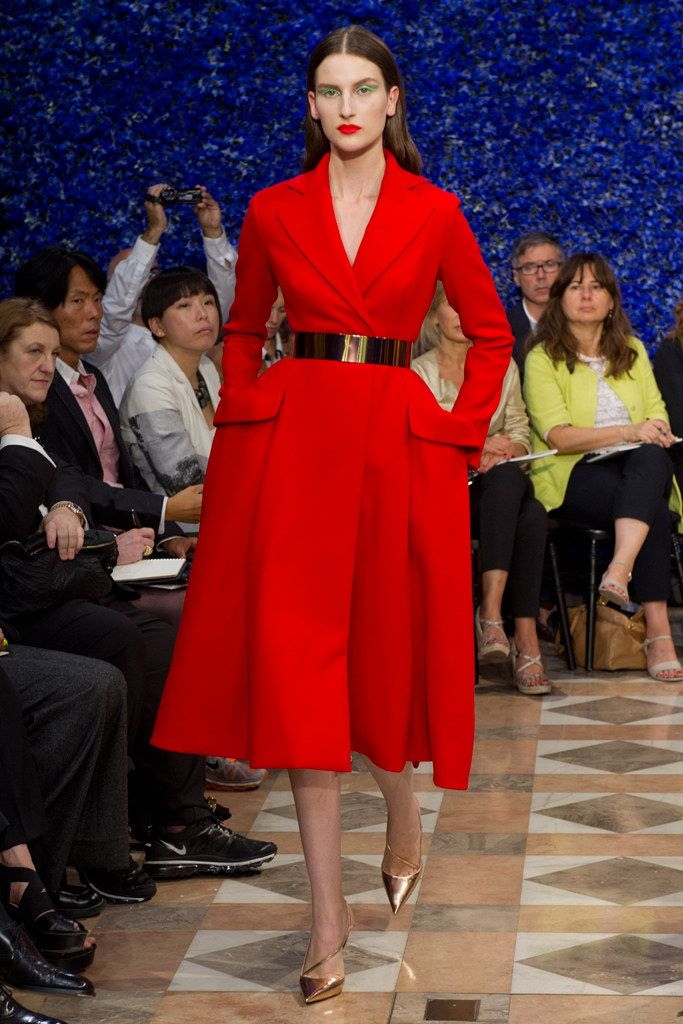 Christian Dior Fall 2012 Couture Fashion Show - Katia Selinger (NEXT)