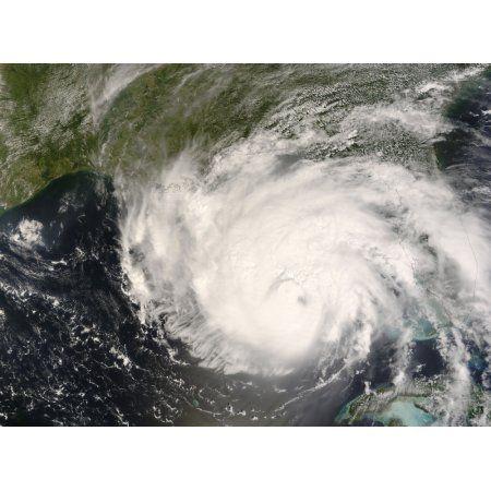 Hurricane Gustav Canvas Art - Stocktrek Images (32 x 24)