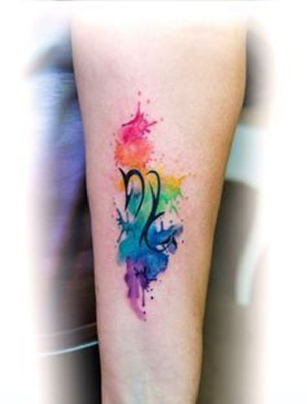 Rainbow Tattoo Designs 25 Rainbow Tattoos Scorpio Tattoo Tattoo Designs