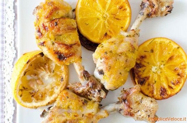 Pollo+marinato+all'arancia