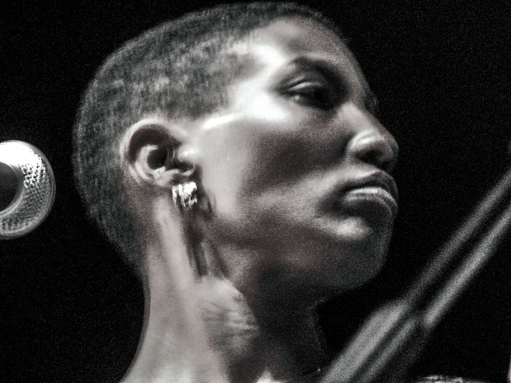 Behance :: Editing Jazz Pictures from Made in Chicago Jazz Fest. autor Robert Lemke. Performed Duriel E. Harris vocal, poetry