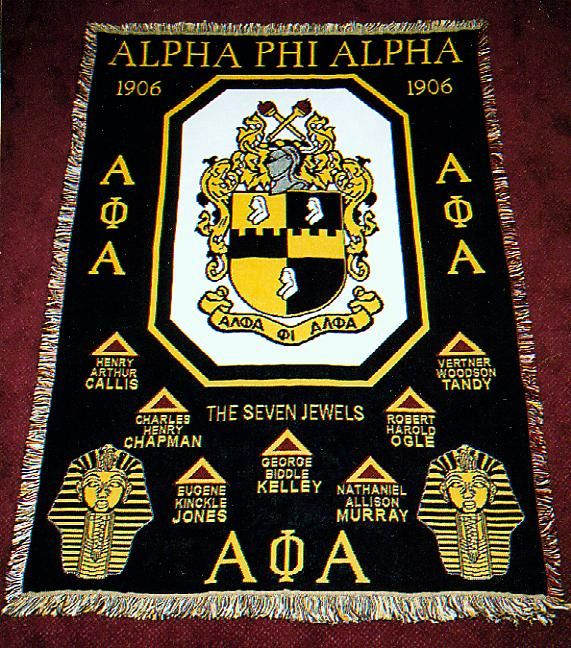 Alpha Phi Alpha Founders Afghan