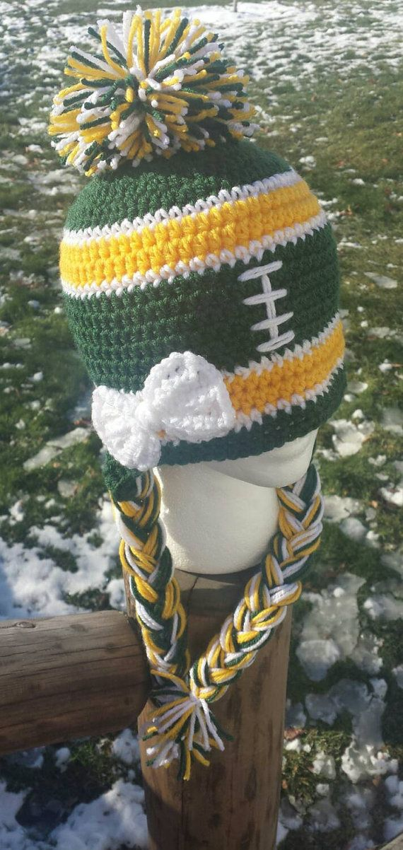 Greenbay Packers Beanie Greenbay Packers Hat by AtTheLilyPond