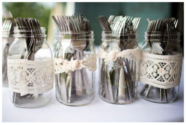 Criatividade e estilo: decore seu casamento com vasinhos de vidro Image: 6