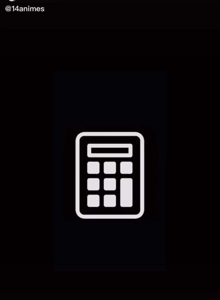 Calculator Black App Iphone Photo App Iphone Wallpaper App